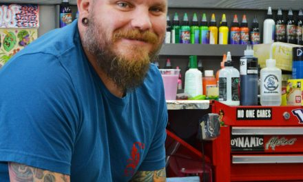 Art Local: Chad Sinkhorn is doing what he loves