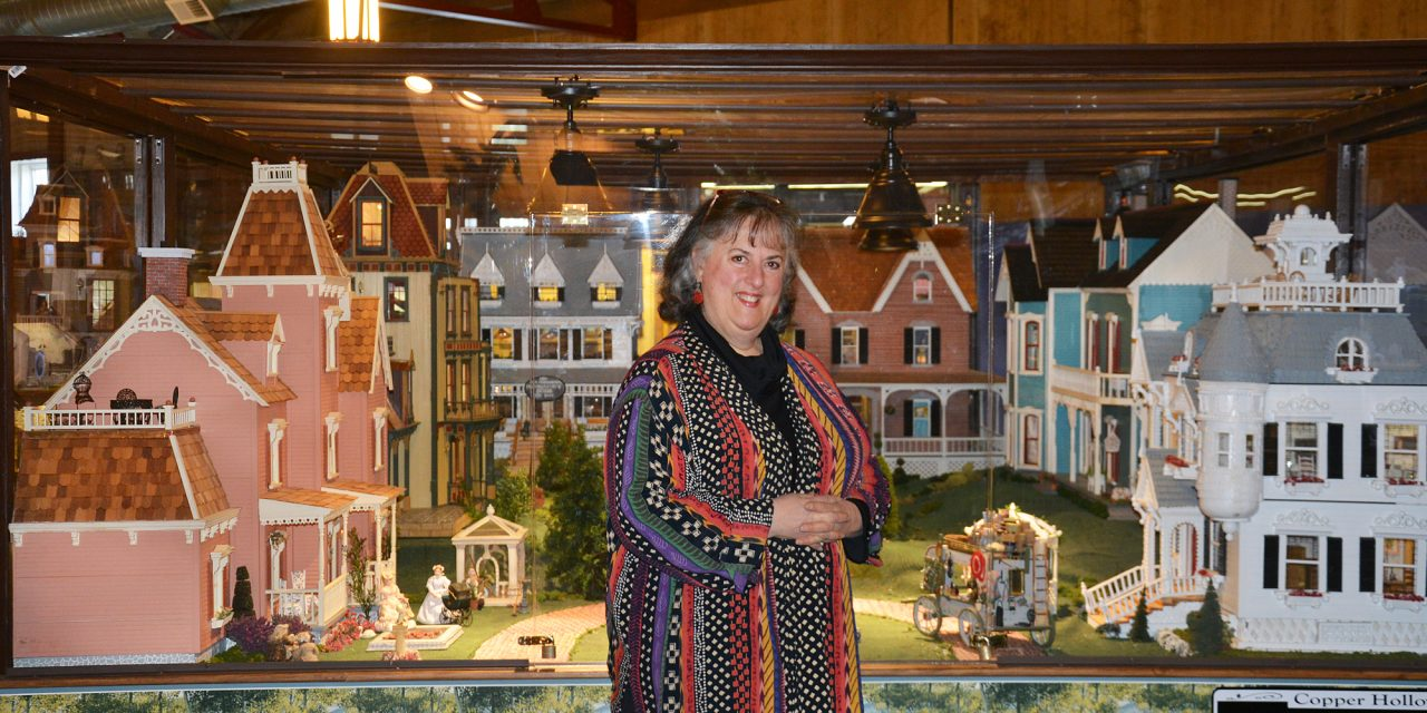 Passion for dollhouses, history creates unique experience